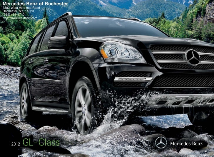 Mercedes-Benz of Rochester3883 West Henrietta RoadRochester, NY, 14623(585) 424-4740http://www.westherr.com     2012   GL-...