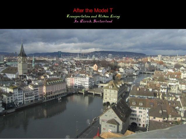 Zurich Urban Planning And Urban Livingin Zürich
