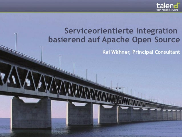 Service-oriented Open Source Integration @ Moderner Staat 2012 (German)