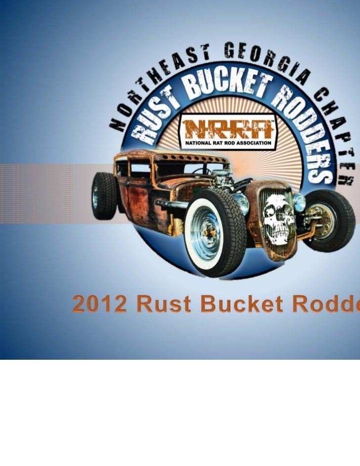2012 monthy calendar rb rodders