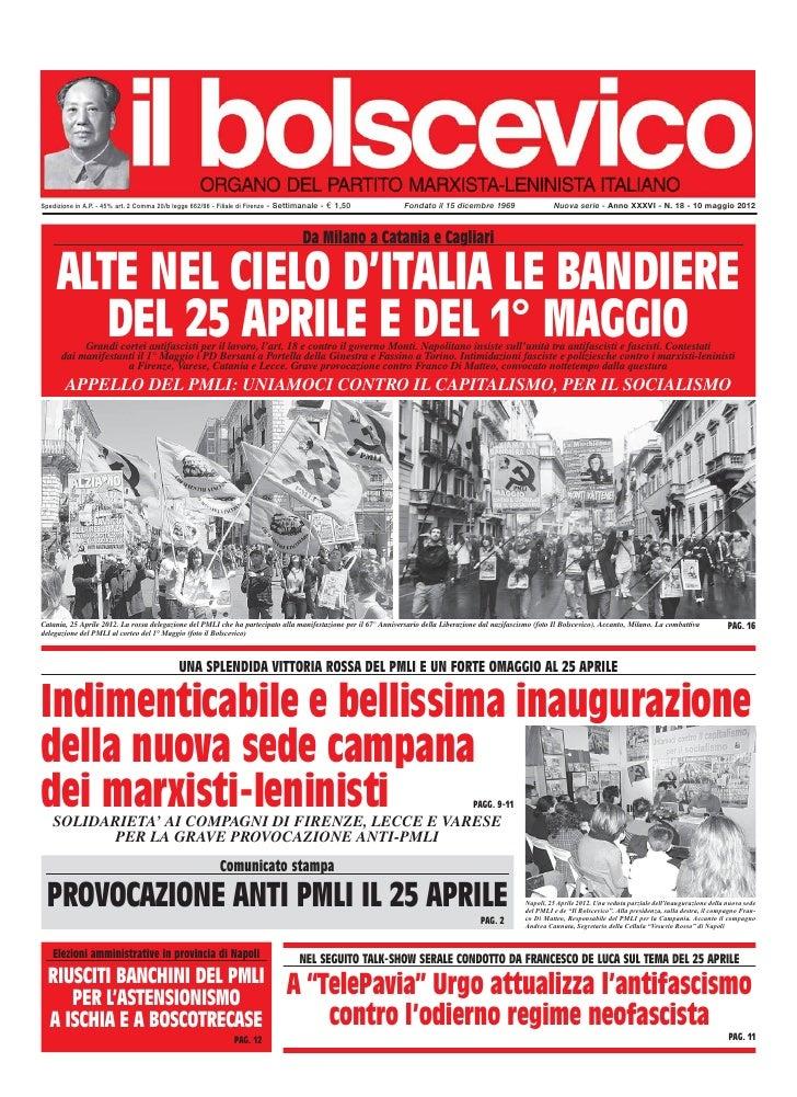 Spedizione in A.P. - 45% art. 2 Comma 20/b legge 662/96 - Filiale di Firenze - Settimanale -   € 1,50            Fondato i...