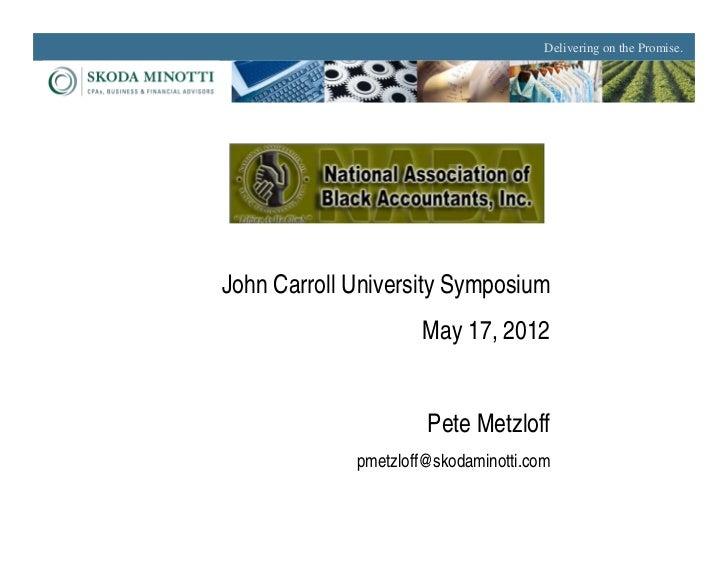 John Carroll University Symposium