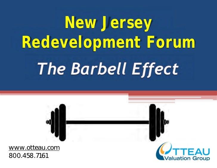 New Jersey   Redevelopment Forumwww.otteau.com800.458.7161