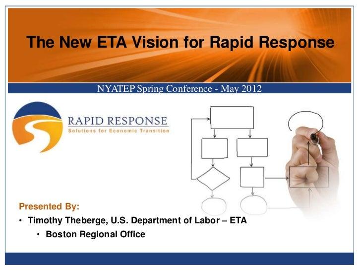 2012 Rapid Response Vision and Innovation (NYATEP)