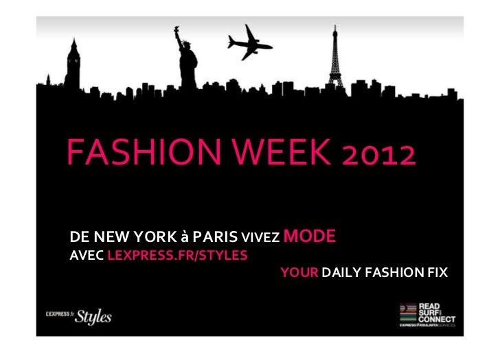 2012 only mode fashion week ipad