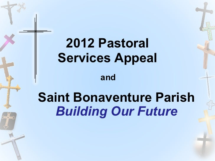 2012 Pastoral Services Appeal