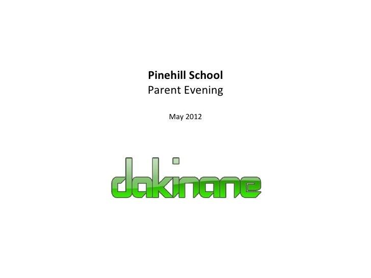 2012 pinehill parent-meeting