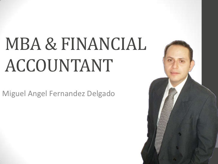 Financial Accountant & MBA