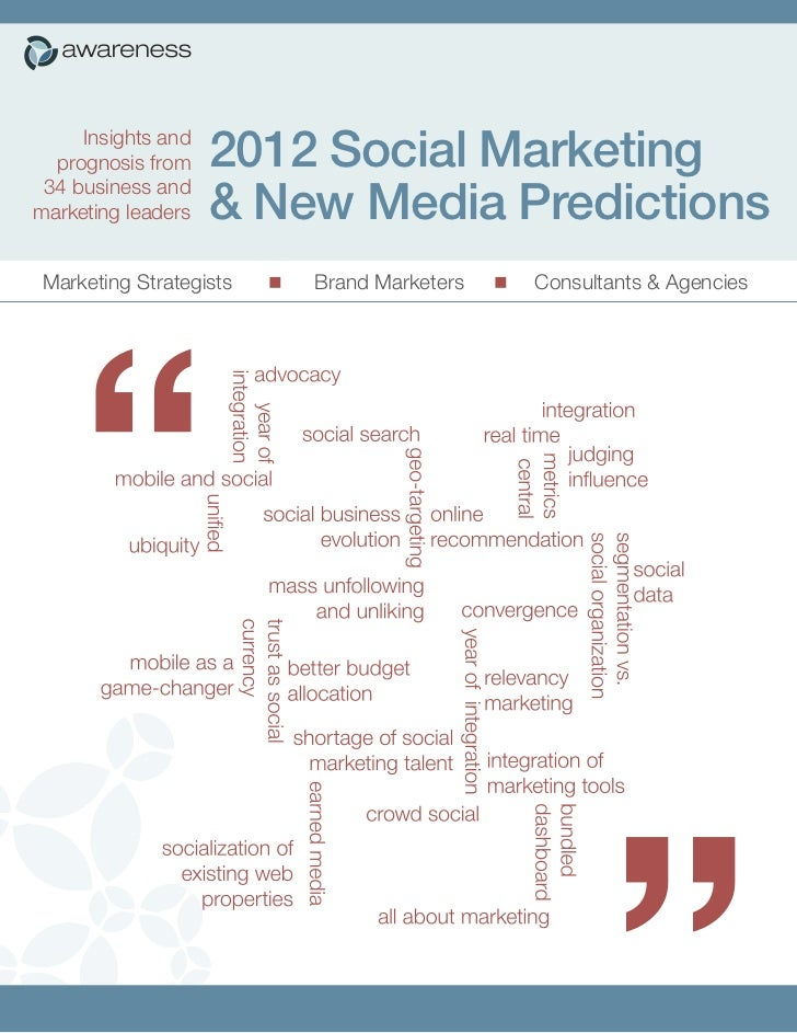 2012 predictions awareness network