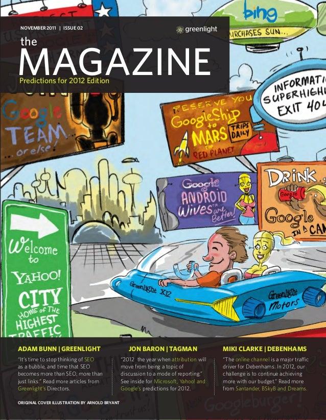 Greenlight's Magazine: 2012 Search Predictions Edition