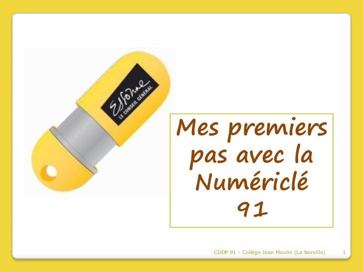 Présentation de la Numériclé 91