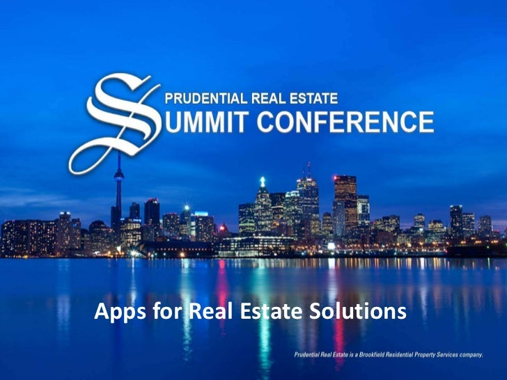 Apps for Real Estate Solutions