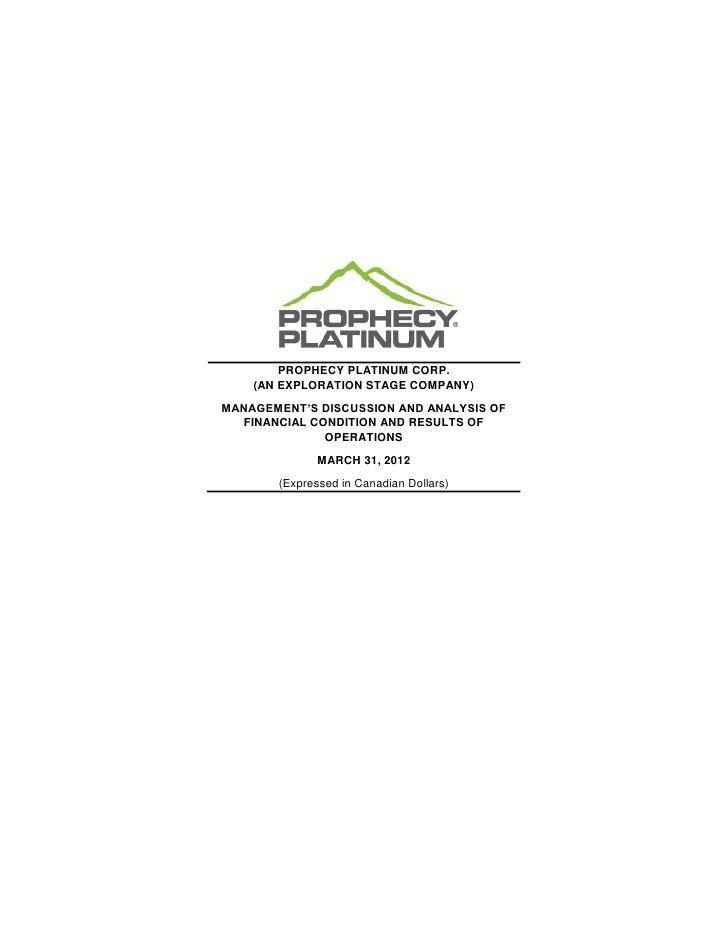 2012 Q3 MD&A & Interim Financial Statemens