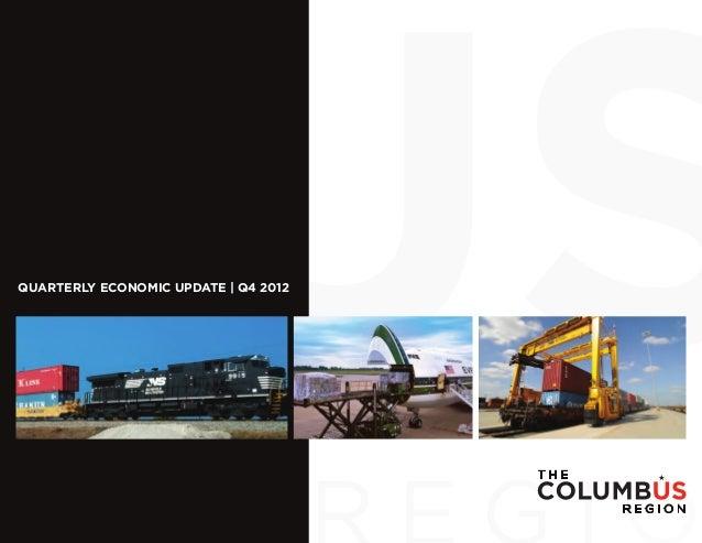 QUARTERLY ECONOMIC UPDATE | Q4 2012