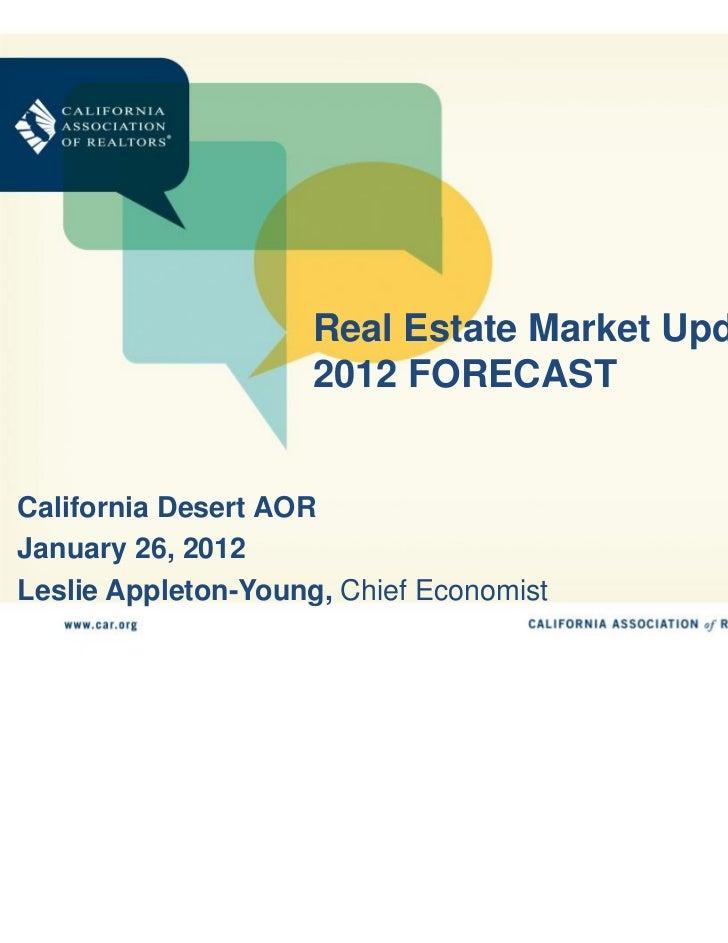 2012 Real Estate Market Update