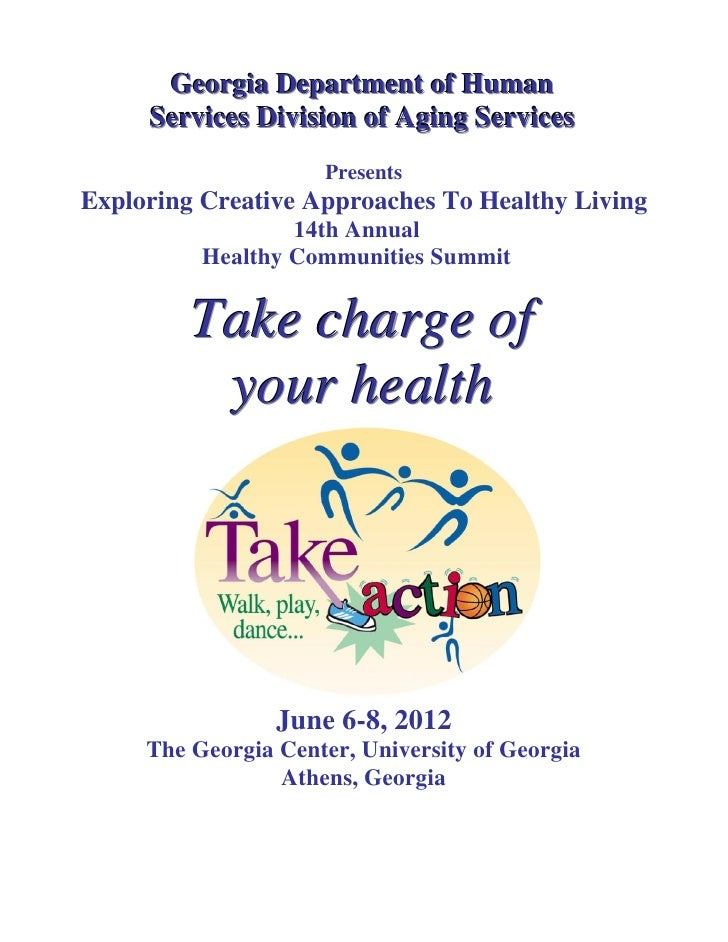 Georgia Department of Human     Services Division of Aging Services                     PresentsExploring Creative Approac...
