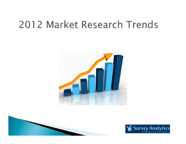 2012 Research Trends