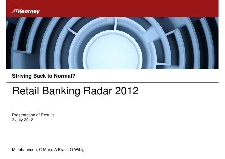 2012 retail banking radar presentation (2)