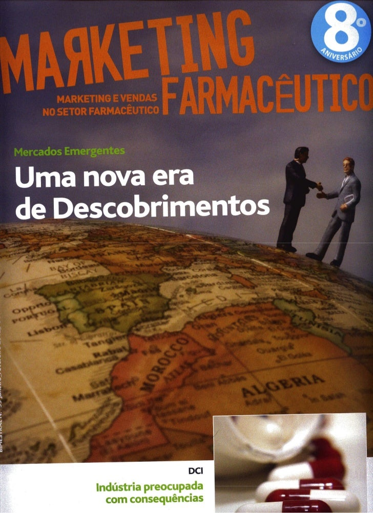 Entrevista de Bruno Silva à Revista Marketing Farmacêutico Jan./Fev 2012