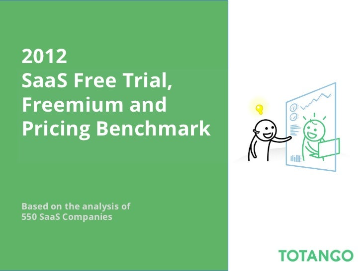 2012 saas free trial, freemium, pricing benchmark