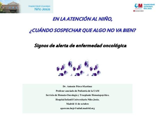 2012 Signos Alerta Enfermedad Oncologica