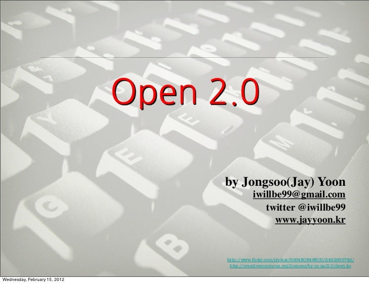 by Jongsoo(Jay) Yoon                                              iwillbe99@gmail.com ...