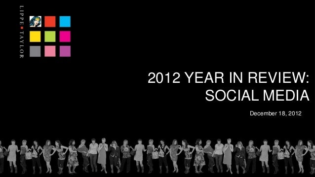 Lippe Taylor 2012 Social Media Trend Report