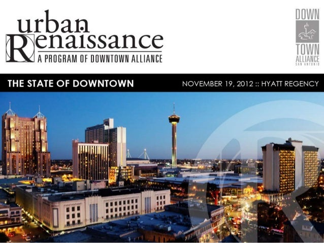 2012 State of Downtown Luncheon