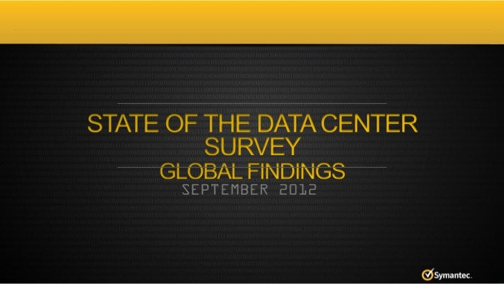 2012 state of the data center survey   global results - august 2012