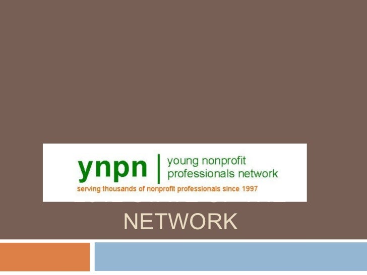 2012 YNPN State of the Network
