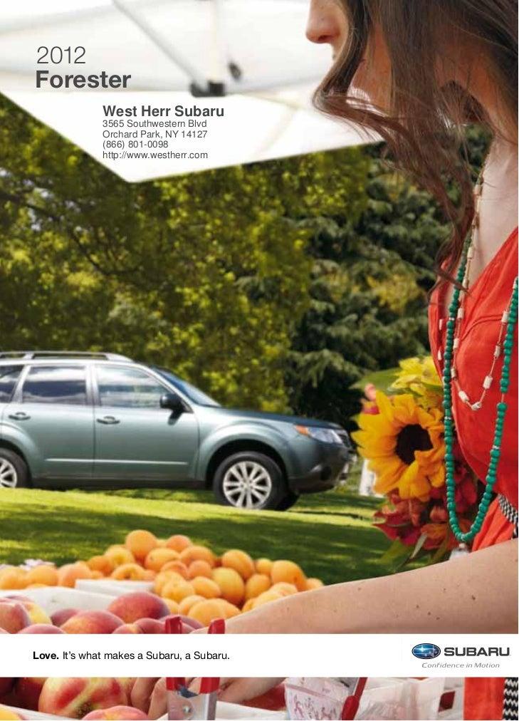 2012 Subaru Forester For Sale NY   Subaru Dealer Near Buffalo