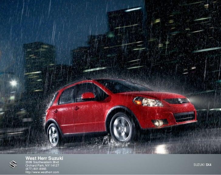 2012 Suzuki SX4 For Sale NY | Suzuki Dealer Near Buffalo