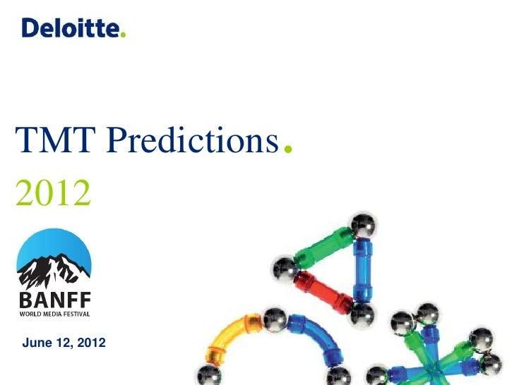 TMT Predictions   .2012June 12, 2012