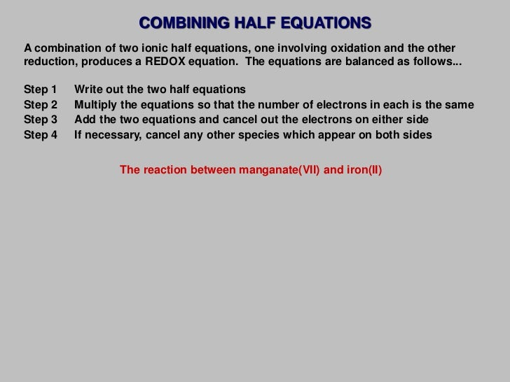 2012 topic 09 oxidation and reduction reactions