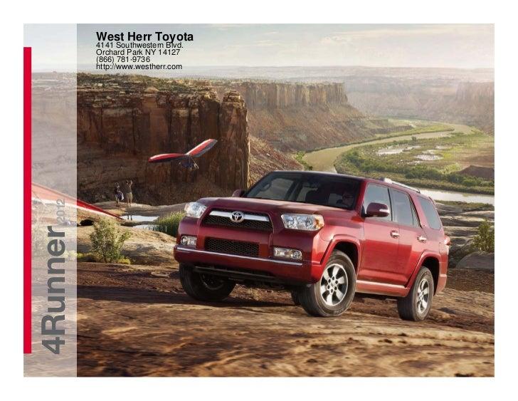 2012 Toyota 4Runner For Sale NY | Toyota Dealer Near Buffalo
