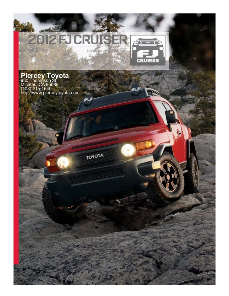 2012 Toyota FJ Cruiser For Sale CA | Toyota Dealer Near San Jose