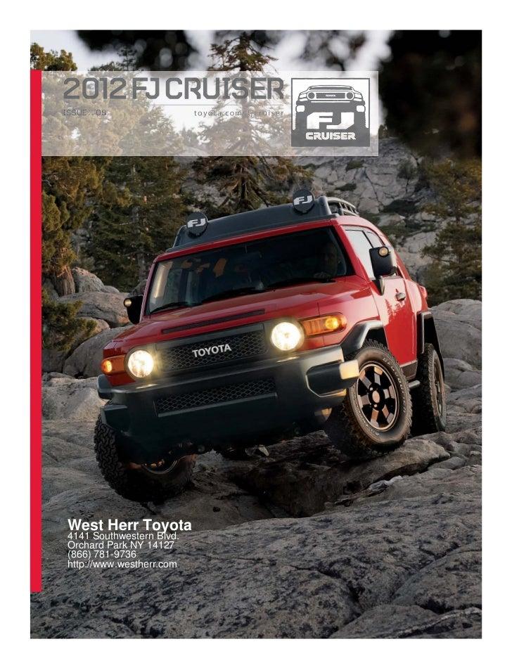2012 Toyota FJ Cruiser For Sale NY   Toyota Dealer Near Buffalo