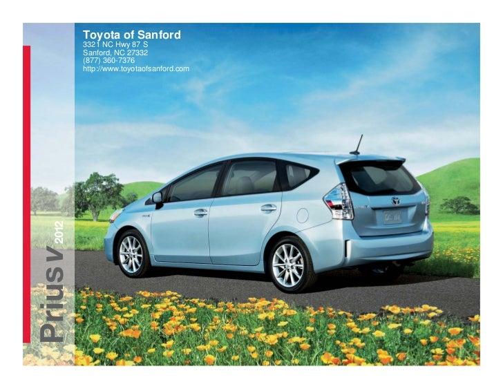 Toyota of Sanford          3321 NC Hwy 87 S          Sanford, NC 27332          (877) 360-7376          http://www.toyotao...
