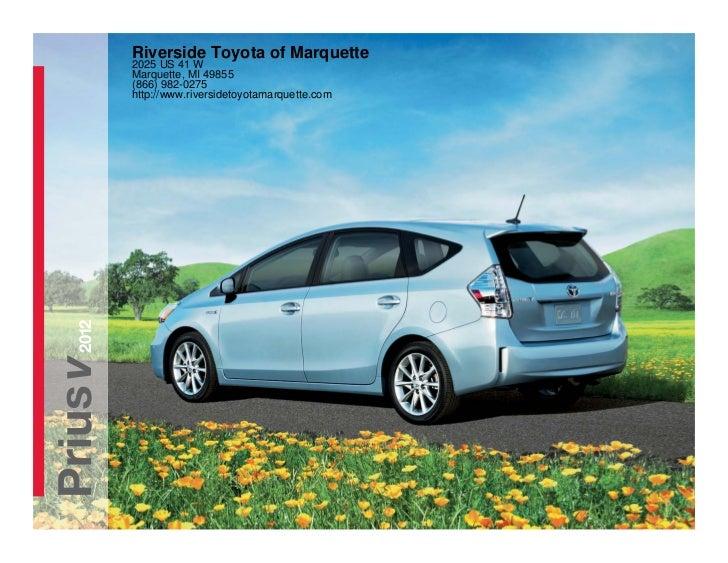 Riverside Toyota of Marquette          2025 US 41 W          Marquette, MI 49855          (866) 982-0275          http://w...