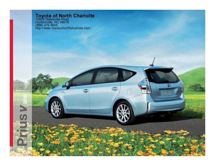 Toyota of North Charlotte          13429 Statesville Road          Huntersville, NC 28078          (888) 475-3924         ...