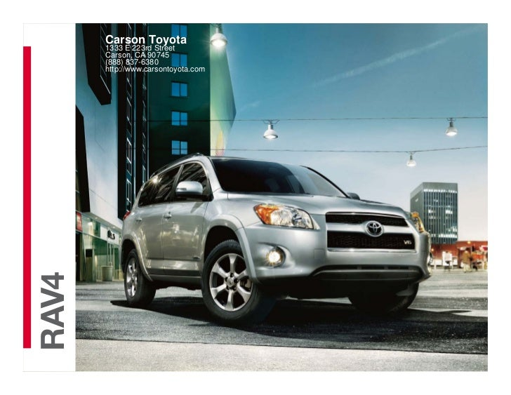 2012 Toyota RAV4 For Sale CA | Toyota Dealer Near Los Angeles County