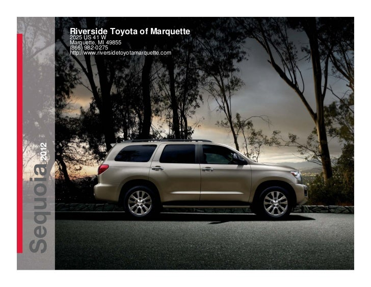 2012 Toyota Sequoia For Sale MI   Toyota Dealer Near Green Bay