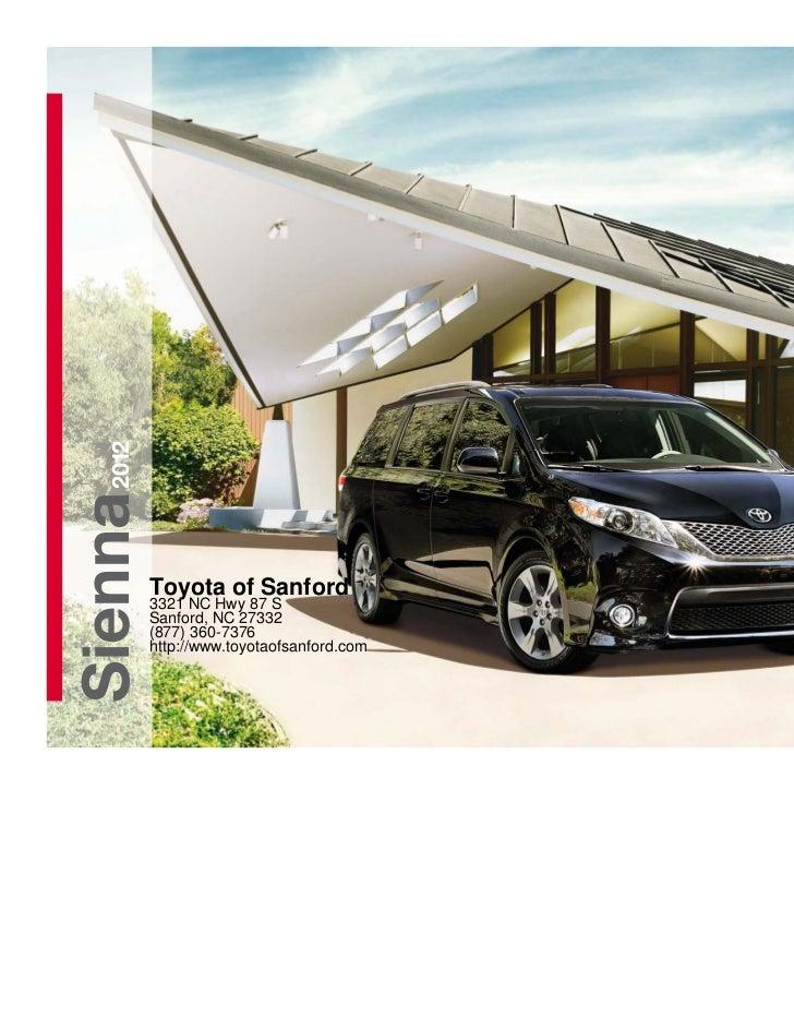 2012 Toyota Sienna For Sale NC   Toyota Dealer Near Fayetteville