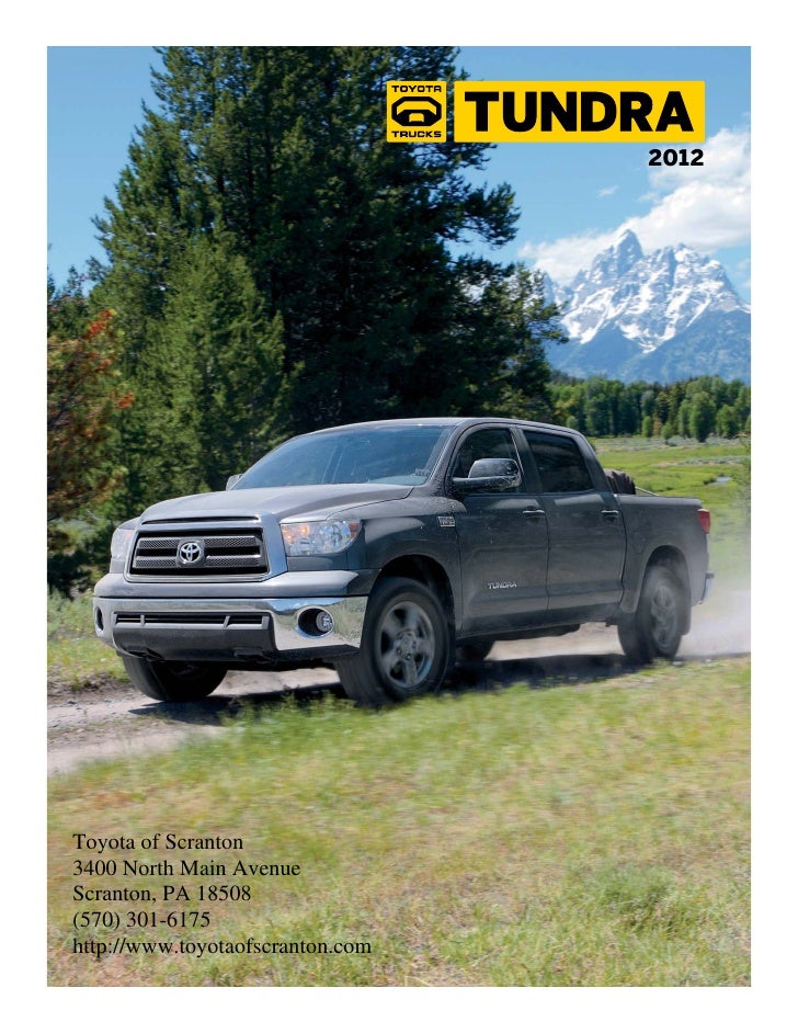 2012 Toyota Tundra for Sale PA | Toyota Dealer serving Wilkes Barre