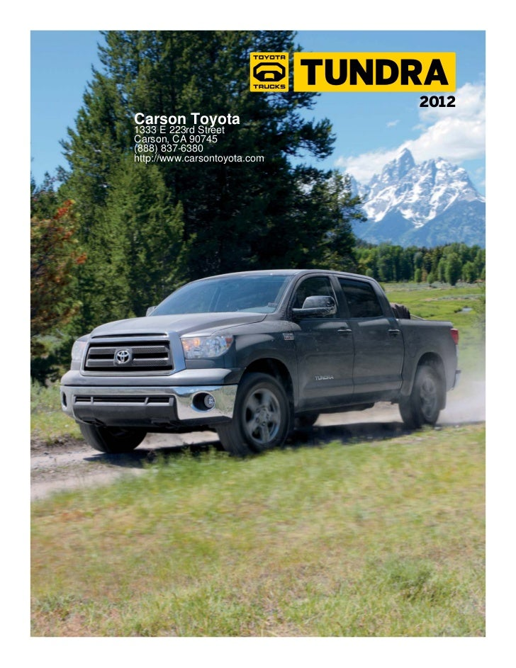 2012 Toyota Tundra For Sale CA | Toyota Dealer Near Los Angeles County