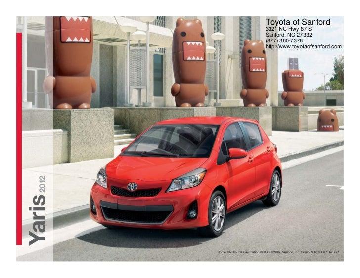 2012 Toyota Yaris For Sale NC | Toyota Dealer Near Fayetteville