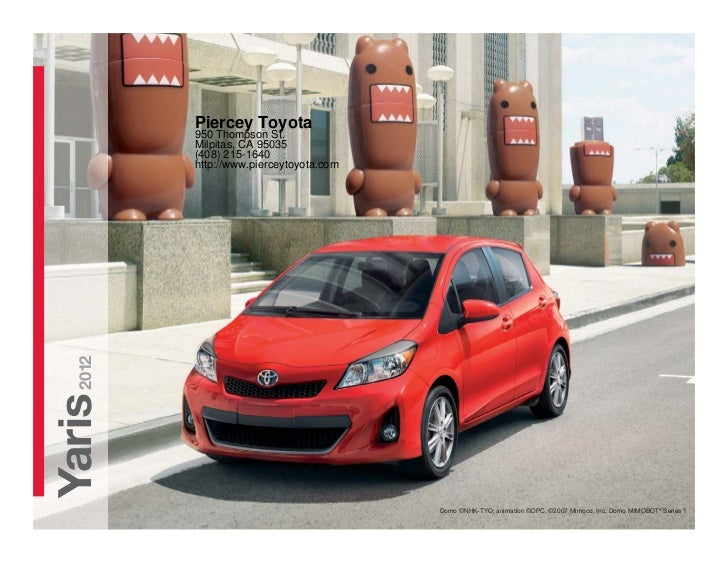 2012 Toyota Yaris For Sale CA | Toyota Dealer Near San Jose