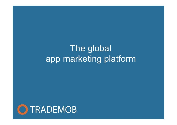 The globalapp marketing platform