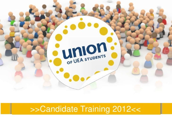>>Candidate Training 2012<<
