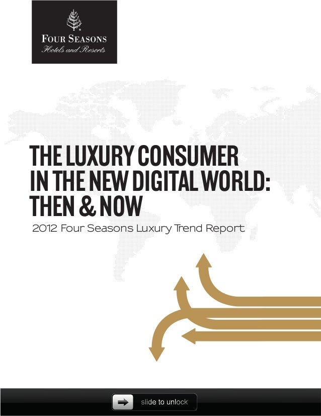 2012 Luxury consumers trends